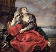 Andrea Sacchi The Death of Dido oil