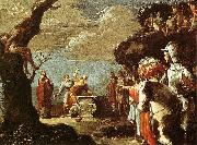 BRAMER, Leonaert Sacrifice of Iphigeneia oil