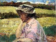 Beckwith James Carroll Lost in Thought oil painting artist