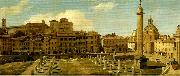 Charles Lock Eastlake view of the forum of trajan rome oil painting artist