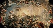 Francisco Bayeu Fall of the Giants oil painting artist