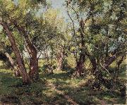 Hugh Bolton Jones The Willows oil painting artist