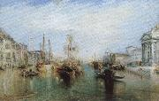 J.M.W. Turner grand canal Spain oil painting artist