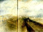 J.M.W.Turner rain, steam and speed oil painting reproduction