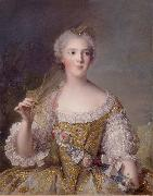 Jjean-Marc nattier Sophie Philippine Elisabeth Justine oil painting