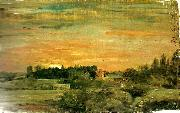 John Constable east bergholt rectory oil painting reproduction