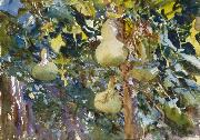 John Singer Sargent Gourds Spain oil painting artist