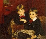 John Singer Sargent Sargent John Singer Portrait of Two Children aka The Forbes Brothers Spain oil painting reproduction