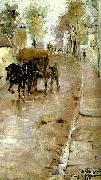 Nils Kreuger grand rue, bourg-la-reine Spain oil painting artist