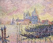 Paul Signac grand canal Spain oil painting artist