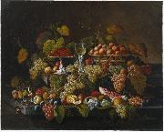 Severin Roesen Still Life with Fruit oil painting artist