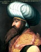ALLORI  Cristofano Portrait of Bayezid I oil painting artist