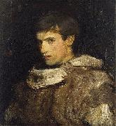 Abbott Handerson Thayer William Michael Spartali Stillman oil
