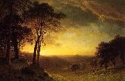 Albert Bierstadt Sacramento River Valley oil painting reproduction