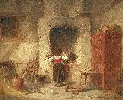 Anders Gustaf Koskull Household Work oil painting
