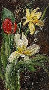 Anna Munthe-Norstedt Still Life with Flowers oil painting artist