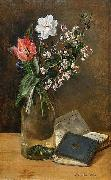 Anna Munthe-Norstedt Still Life with Spring Flowers oil painting artist