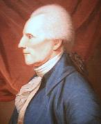 Charles Willson Peale Oil on canvas painting of Richard Henry Lee oil
