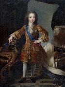 Circle of Pierre Gobert Portrait of King Louis XV of France as child oil painting