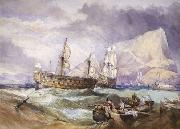 Clarkson Frederick Stanfield Victory oil painting artist