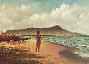 Elizabeth Armstrong Hawaiians at Rest oil painting artist