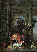 Erasmus Quellinus Still Life in an Architectural Setting oil painting artist