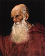 Follower of Jacopo da Ponte Portrait of a Cardinal oil painting artist