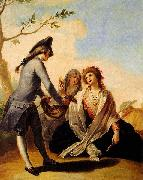 Francisco Bayeu y Subias Obsequio campestre oil painting reproduction