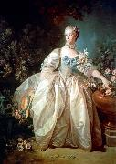 Francois Boucher Madame Bergeret oil painting reproduction
