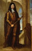 Guido Cagnacci Kaiser Leopold I. (1640-1705) im Kronungsharnisch oil painting reproduction