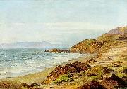 Henry Otto Wix Coastal Scene oil painting
