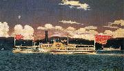 James Bard Steamer Broadway oil painting artist