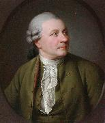 Jens Juel Portrait of Friedrich Gottlieb Klopstock (1724-1803), German poet oil