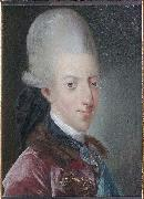 Jens Juel Portrait of Christian VII of Denmark oil