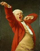 Joseph Ducreux Yawning oil painting artist