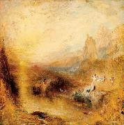 Joseph Mallord William Turner Glaucus and Scylla Spain oil painting artist
