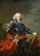 Loo, Louis-Michel van Portrait of Philip V of Spain oil painting artist