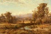 Louis Buvelot Macedon Ranges oil painting reproduction