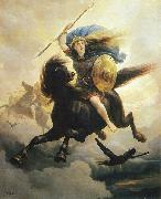 Peter Nicolai Arbo Valkyrien oil painting reproduction