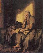 Rembrandt Peale St Paul in Prison oil painting artist