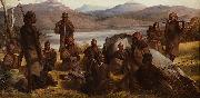 Robert Dowling Group of Natives of Tasmania oil painting reproduction