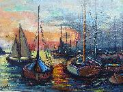 unknow artist Ultimate gleam oil painting reproduction
