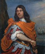 Abraham Evertsz. van Westerveld Cornelis Tromp in Roman costume oil painting
