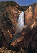 Albert Bierstadt Yellowstone Falls oil painting reproduction