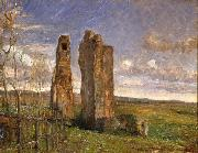 Albert Gottschalk Ruins in Campagna oil painting