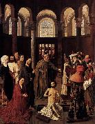 Albert van Ouwater The Raising of Lazarus oil painting