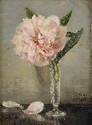 Anna Munthe-Norstedt Still Life with a Peony oil painting artist