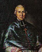 Antoine Plamondon Portrait of Monseigneur Joseph Signay oil painting