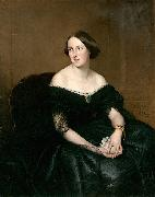 Antonio Maria Esquivel Portrait of a lady oil painting
