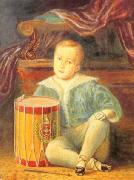 Armand Palliere Pedro II of Brazil, aged 4 oil painting